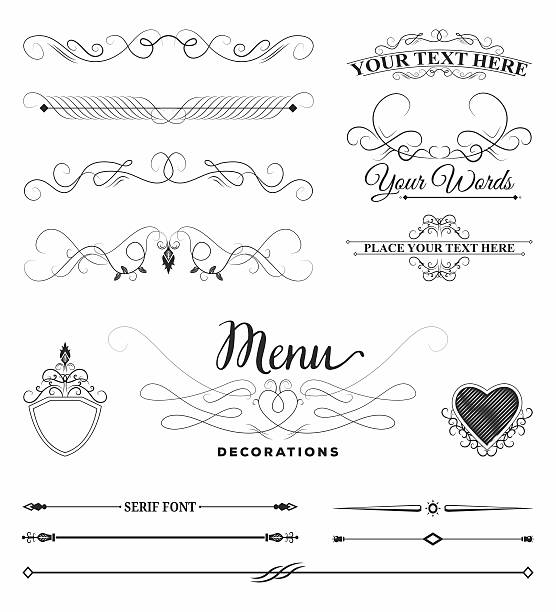 Blank template of menu card background with frame. A cute and fancy page  frame for restaurant.   Restaurant menu card, Menu cards, Frame template