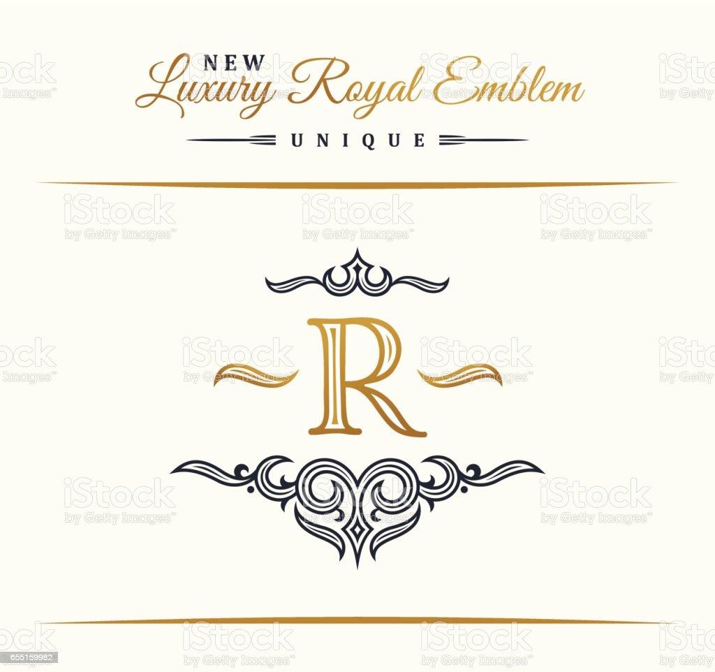 Calligraphic luxury line flourishes elegant emblem monogram royal calligraphic luxury line flourishes elegant emblem monogram royal vintage divider design royalty free calligraphic biocorpaavc Image collections