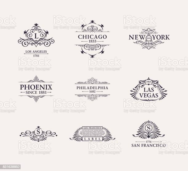 Calligraphic luxury line icon flourishes elegant emblem monogram vector id831638852?b=1&k=6&m=831638852&s=612x612&h=kgaqorttqulmb0g9gigzrax1epnr nullub9o94 0 e=