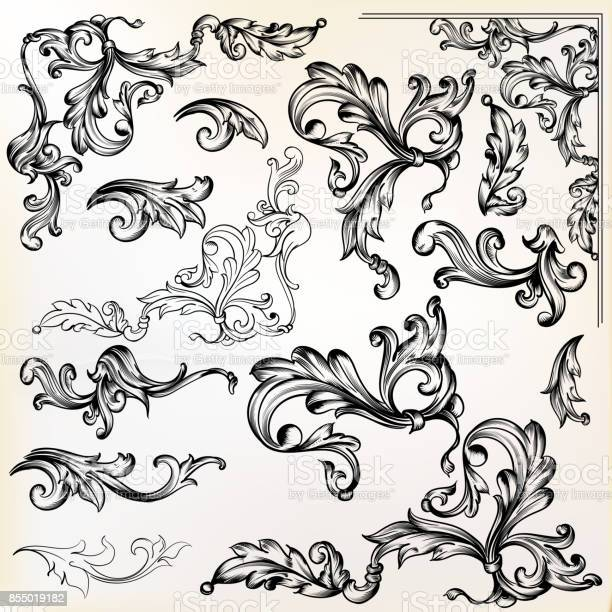 Calligraphic vector vintage design elements and swirls vector id855019182?b=1&k=6&m=855019182&s=612x612&h=w 563dvq7lm7t5kmta4u5kgibgeprimntmueiunqybe=