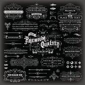Calligraphic Vintage Elements