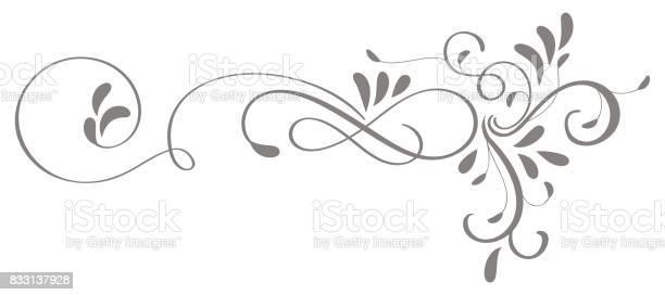 Calligraphy flourish art of vintage decorative whorls for design vector id833137928?b=1&k=6&m=833137928&s=612x612&h=w4b26lc5 wqk yspe1s 0v9yvwwsidlsy52wrskn5r8=