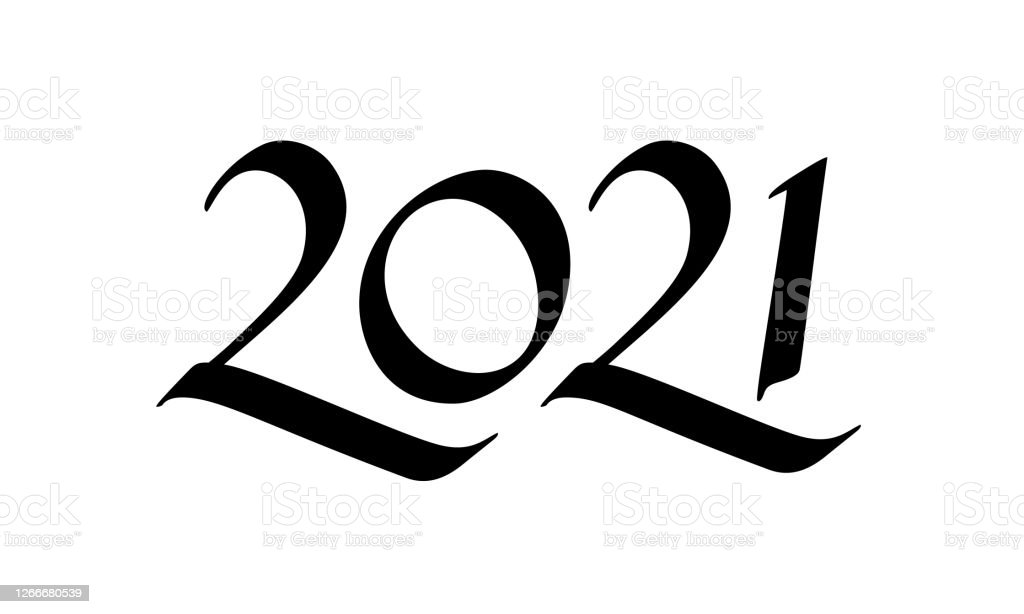 Calligraphy For 2021 New Year Of The Ox Stock Illustration Download Image Now Istock
