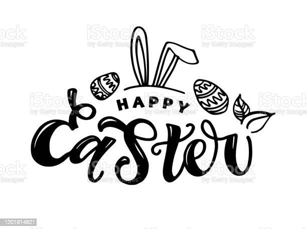 Calligraphy lettering slogan about easter for flyer and print design vector id1201614821?b=1&k=6&m=1201614821&s=612x612&h=xrmsbaseyazp9xtoosg259dwxvyj7 ckdeypzfsnxaq=