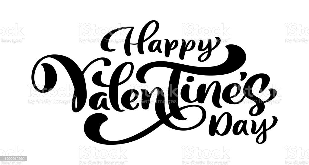 Calligraphy phrase Happy Valentine s Day. Vector Valentines Day Hand Drawn lettering. Heart Holiday sketch doodle Design valentine card. love decor for web, wedding and print. Isolated illustration Calligraphy phrase Happy Valentine s Day. Vector Valentines Day Hand Drawn lettering. Heart Holiday sketch doodle Design valentine card. love decor for web, wedding and print. Isolated illustration. Abstract stock vector