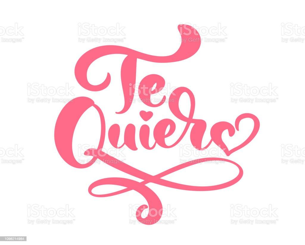 auf spanisch ich lieb dich