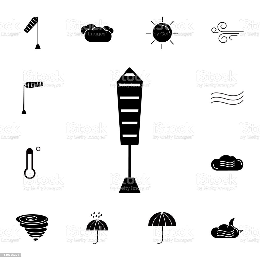 Calm Temperature Icon Set Of Weather Sign Icons Web Icons Premium