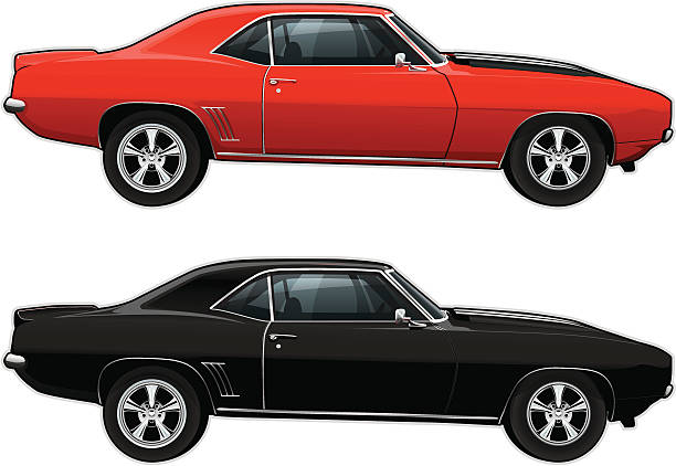 Royalty Free Chevrolet Camaro Clip Art, Vector Images ...