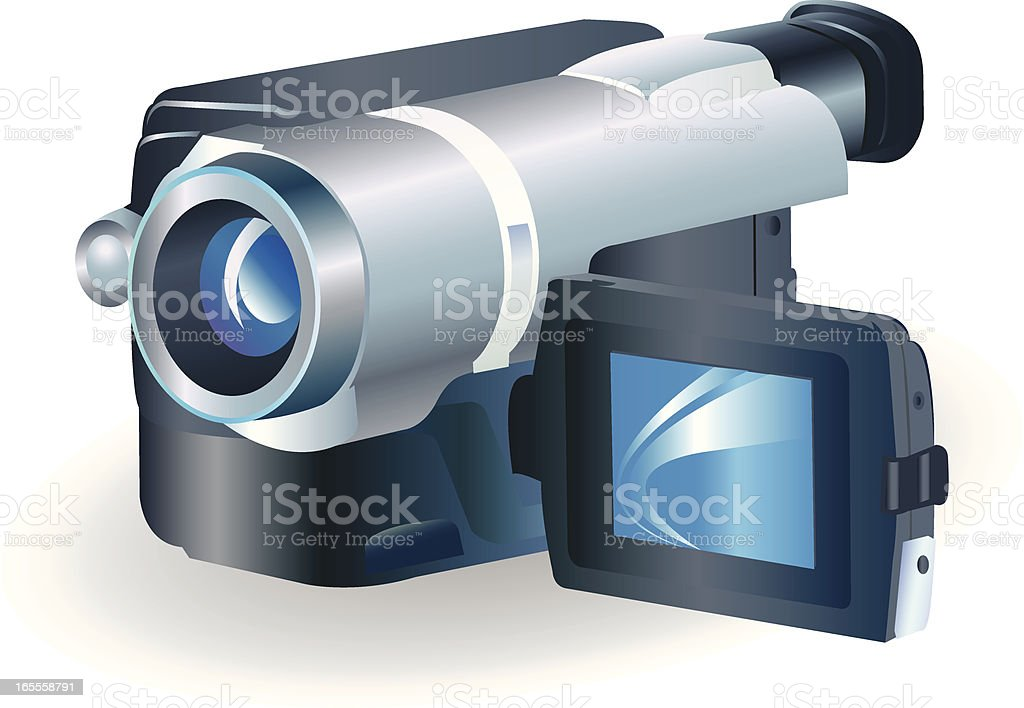 Camcorder royalty-free stock vector art