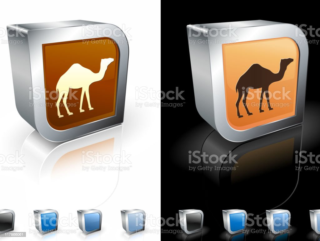 camel 3D royalty free vector art royalty-free stock vector art