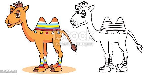 istock Camello las marcas ilustración de dibujo a mano 479057644 ...