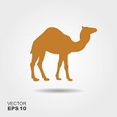 istock Camel icon silhouette vector illustration 924111218