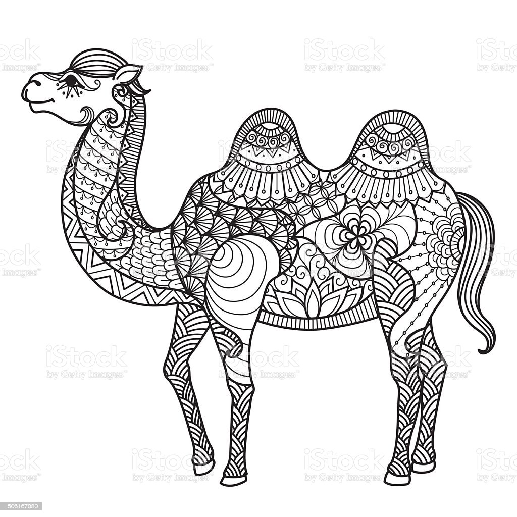 Ilustración de Camello y más banco de imágenes de Abstracto ...