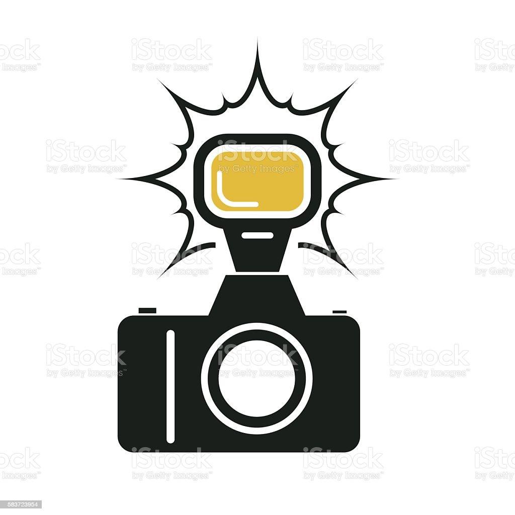 royalty free camera flash clip art vector images