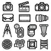 Camera Icon Black