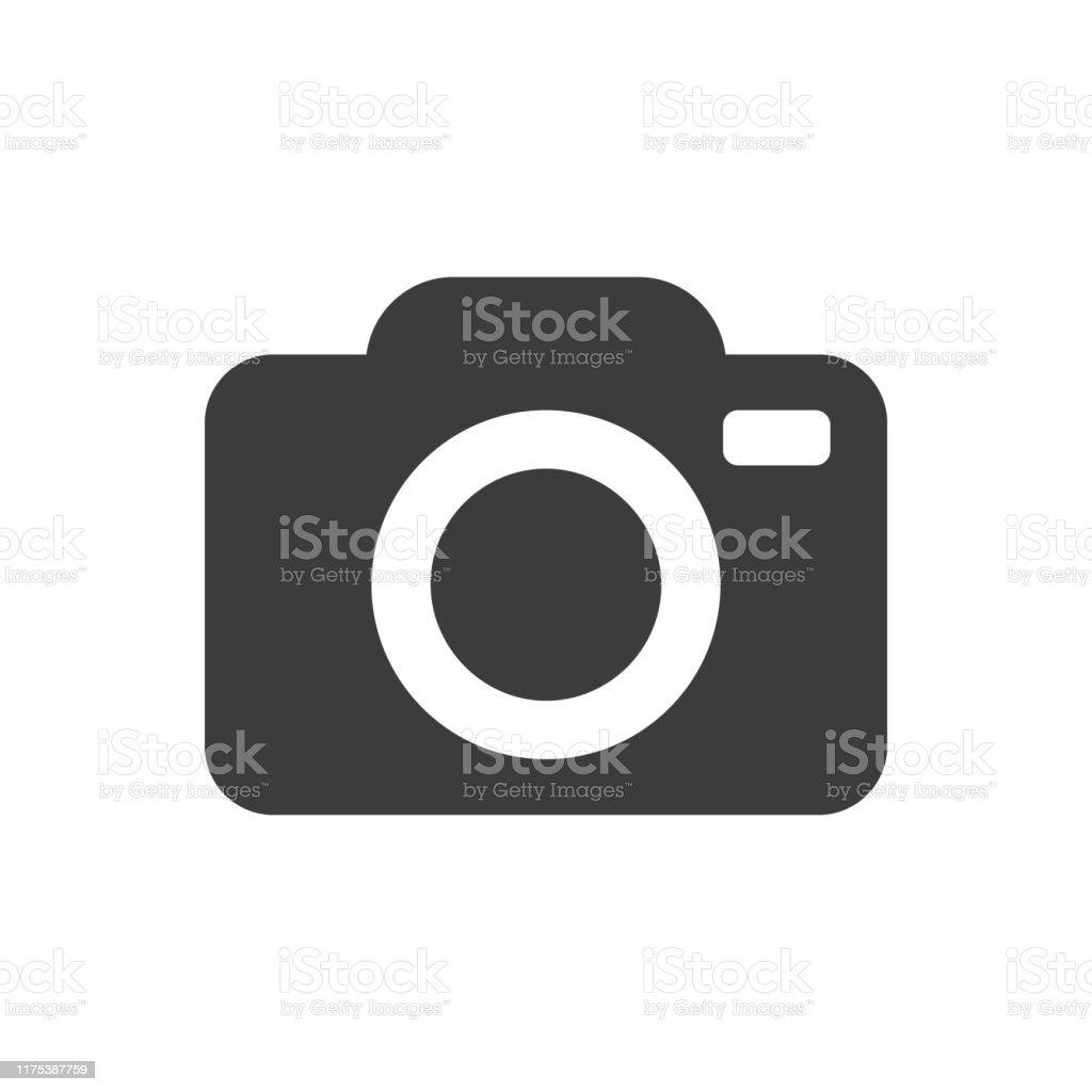 Camera Icon - Royalty-free Câmara Fotográfica arte vetorial