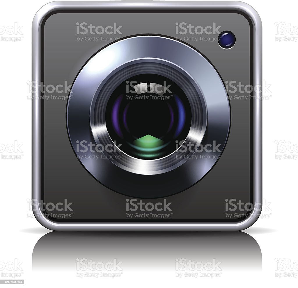 Camera Icon royalty-free stock vector art
