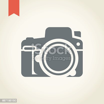 Camera icon,vector illustration.