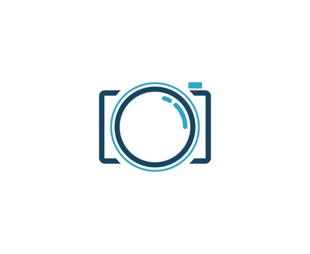 Camera  icon This illustration/vector you can use for any purpose related to your business. camera photographic equipment stock illustrations