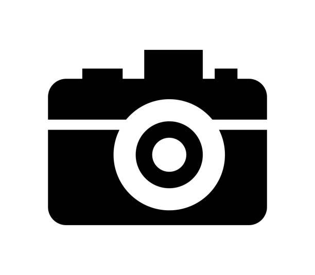 Icône de caméra - Illustration vectorielle