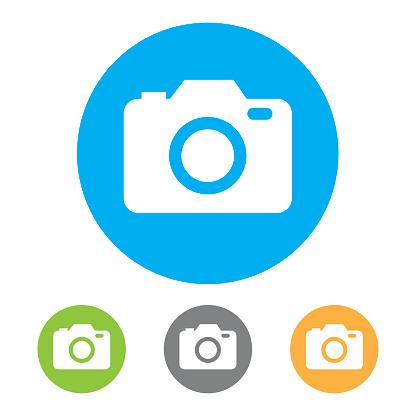 Camera Icons. Vector