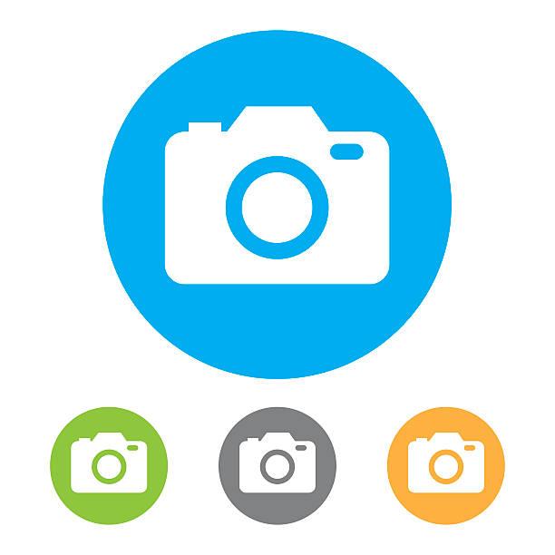Icônes de caméra. Vecteur - Illustration vectorielle