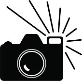 Camera icon,vector illustration.