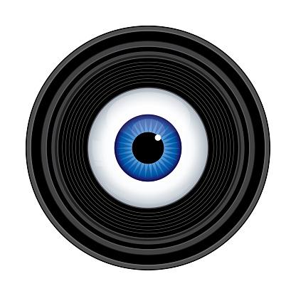Camera Lens Eyeball