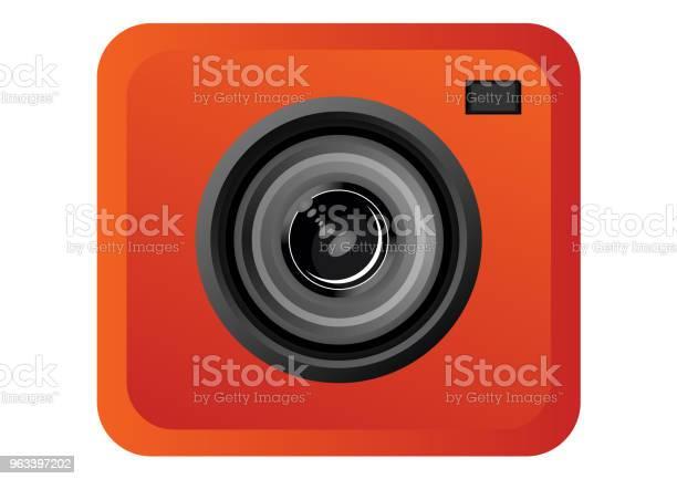 Ikona Obiektywu Aparatu - Stockowe grafiki wektorowe i więcej obrazów Aparat fotograficzny