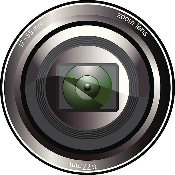 Royalty Free Camera Lens Close Up Clip Art, Vector Images ...