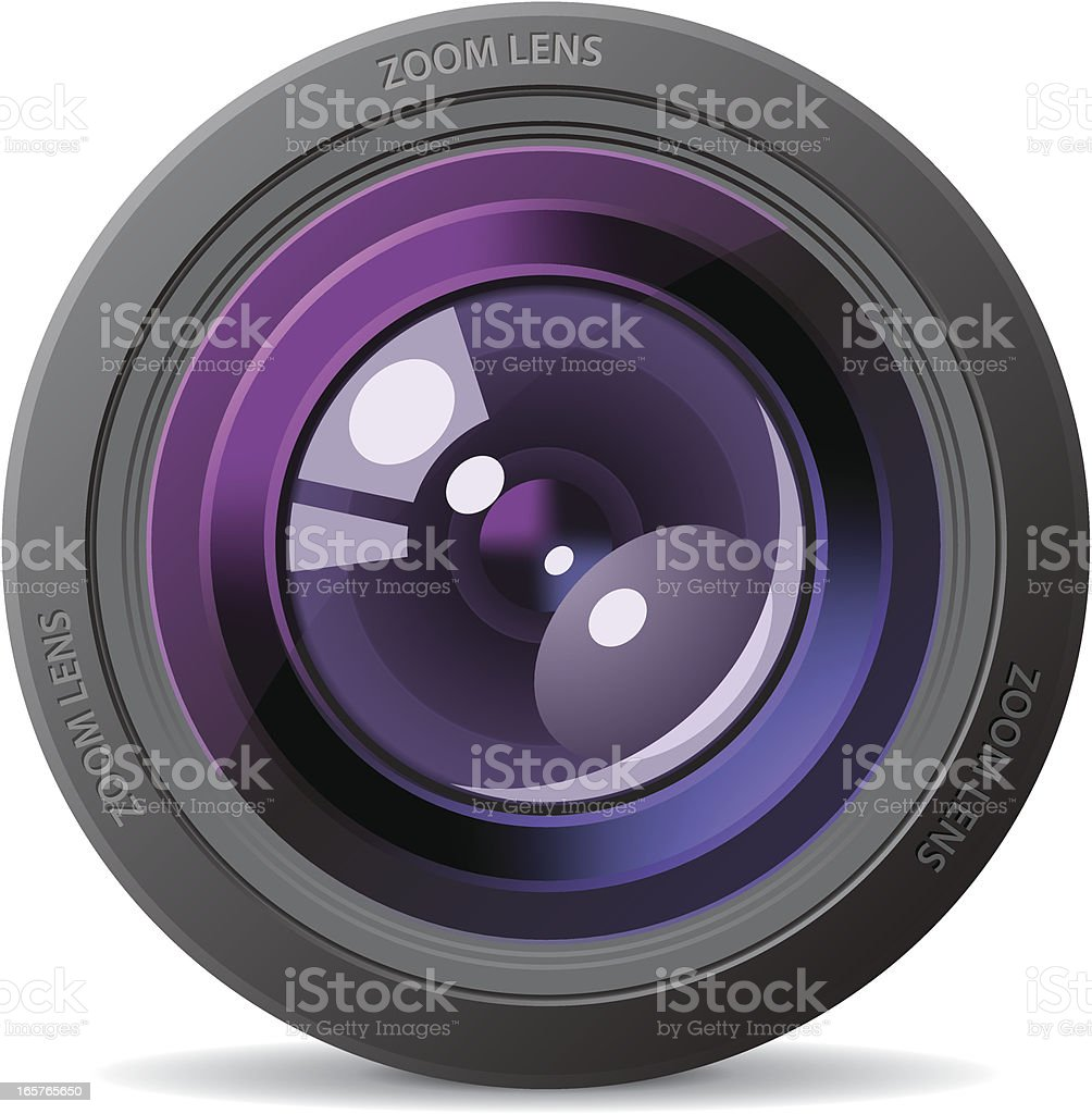 Camera lens royalty-free camera lens stock vector art & more images of aperture