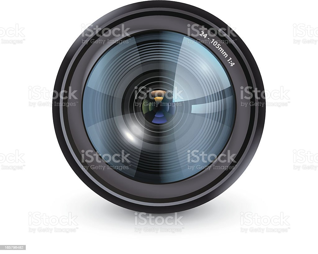 Camera lens royalty-free camera lens stock vector art & more images of eyeglasses