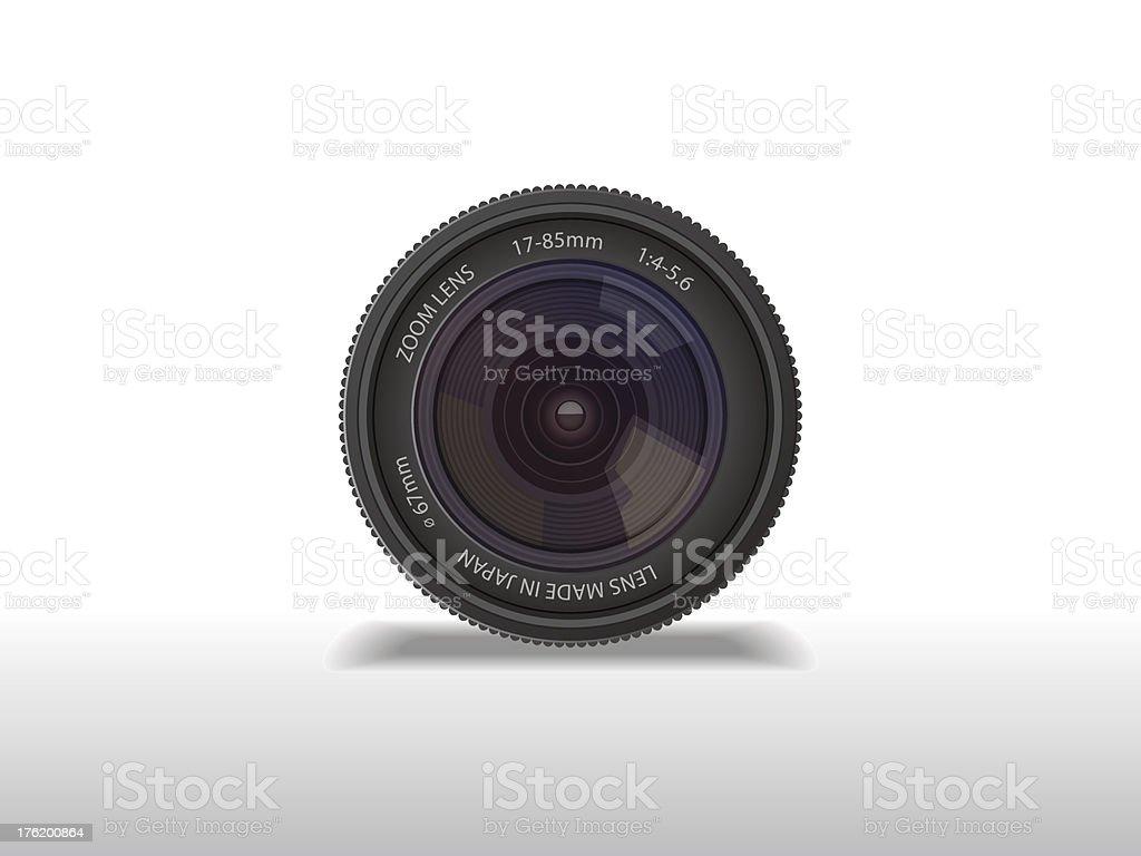 Camera lens royalty-free stock vector art