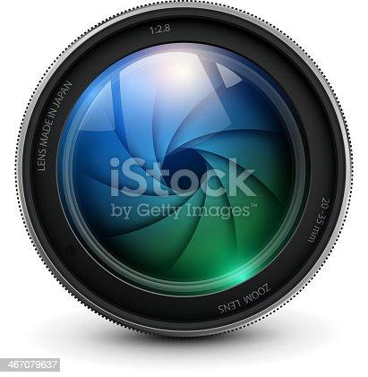 istock Camera lens 467079637