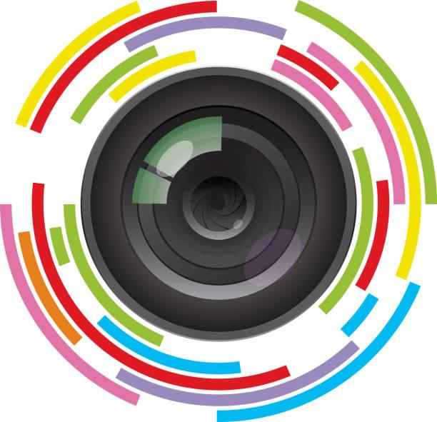 Royalty Free Camera Lens Clip Art, Vector Images ...