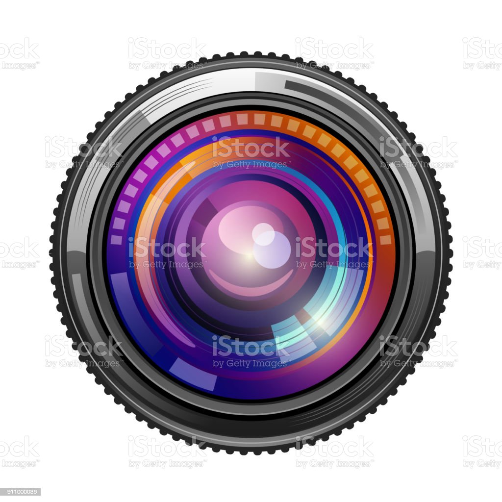 camera lens stock vector art more images of black color 911000036 rh istockphoto com camera lens vector png camera lens vector image