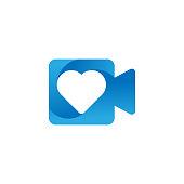 Camera Logo icon Vector Illustration. Photo Camera logo design vector template. Trendy Camera flat design vector for website, symbol, logo, icon, sign, app, UI.