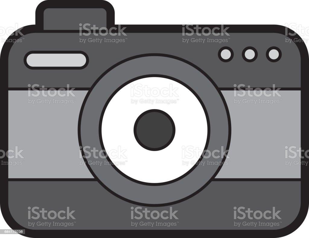 fotografische geïsoleerde camerasymbool royalty free fotografische geïsoleerde camerasymbool stockvectorkunst en meer beelden van apparatuur