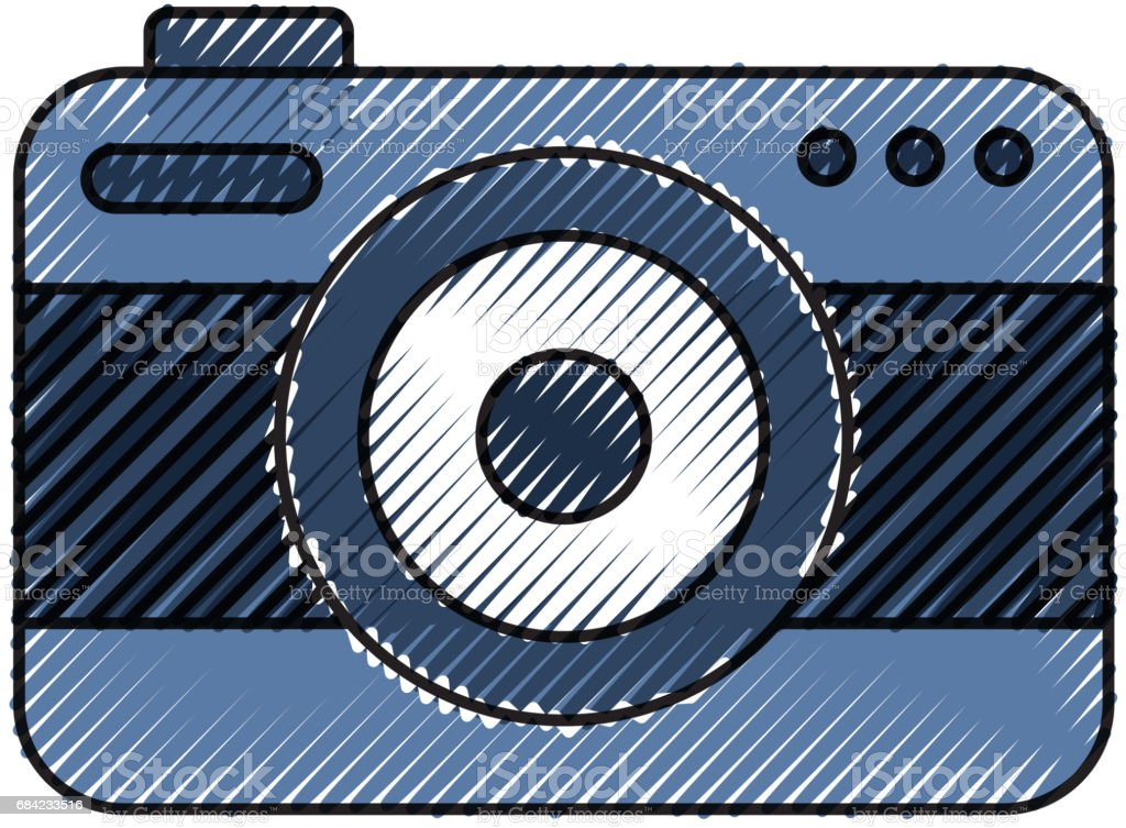 camera photographic isolated icon royalty-free camera photographic isolated icon stock vector art & more images of arts culture and entertainment