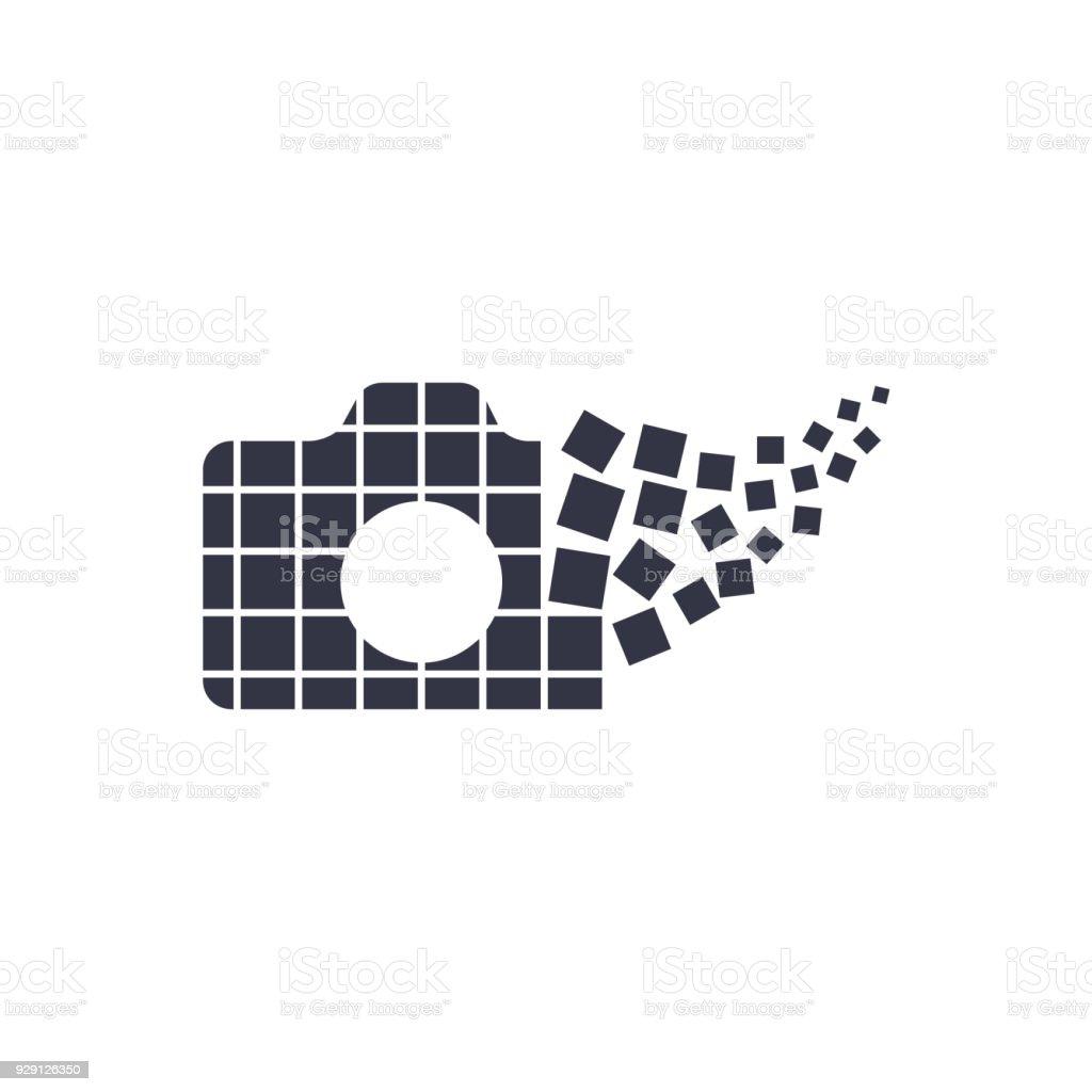 Kamerafotografielogosymbolvorlage Stock Vektor Art und mehr Bilder ...