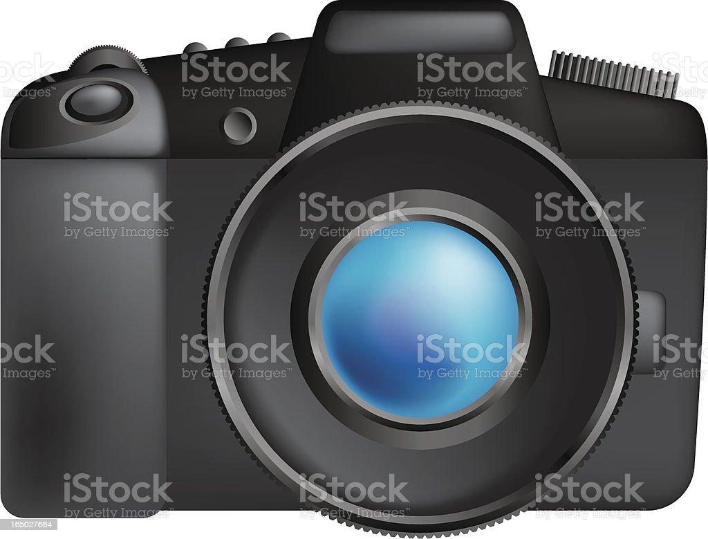 Camera SLR royalty-free camera slr stock vector art & more images of animal body