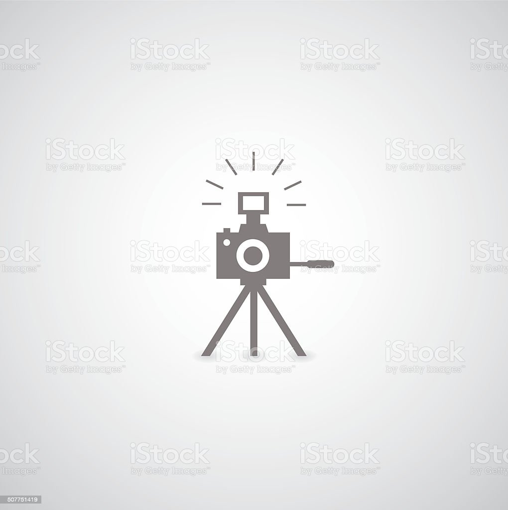 camera symbol vector art illustration