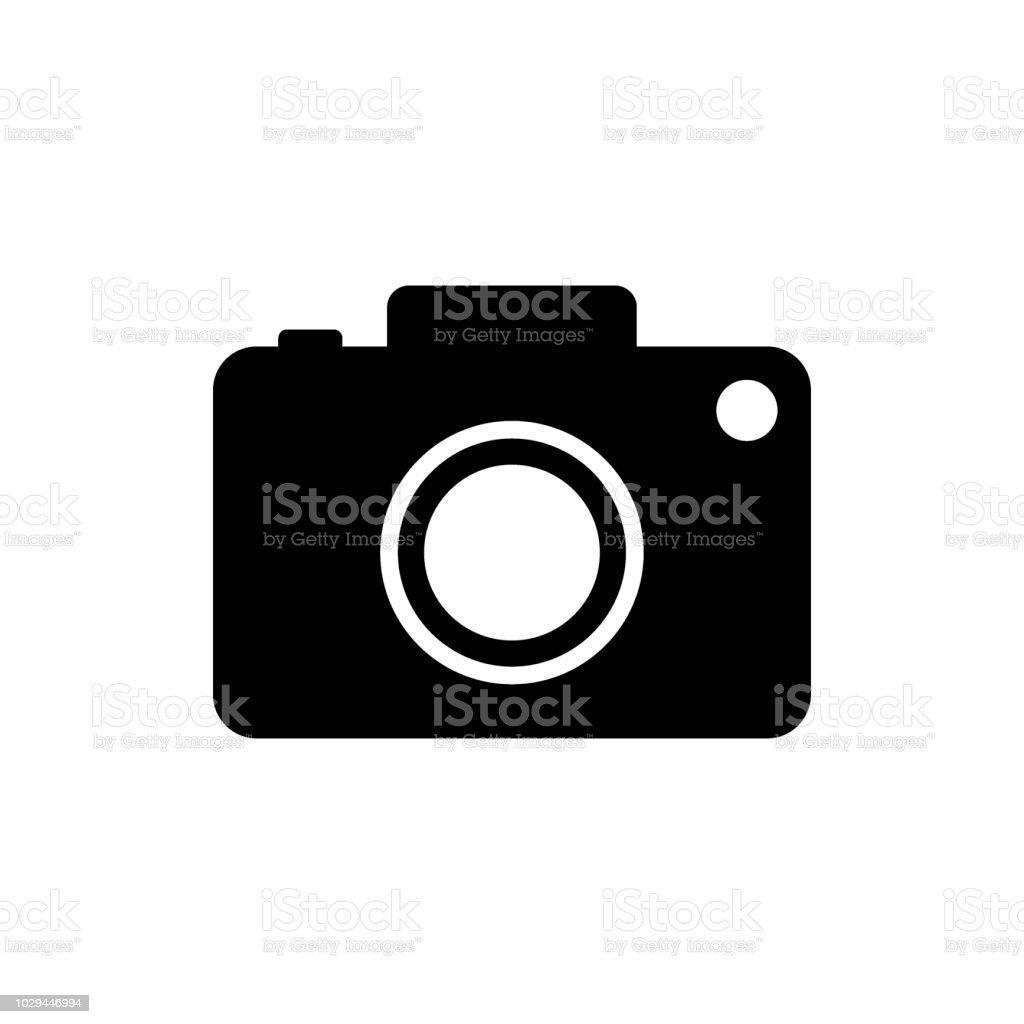 Camera vector icon vector art illustration