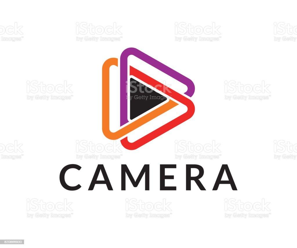 Vecteur icône de caméra - Illustration vectorielle