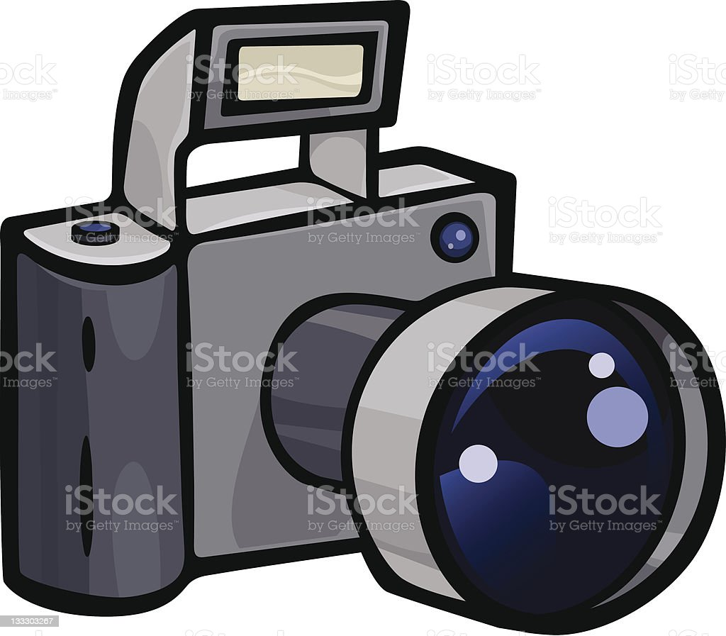 Camera royalty-free camera stock illustration - download image now