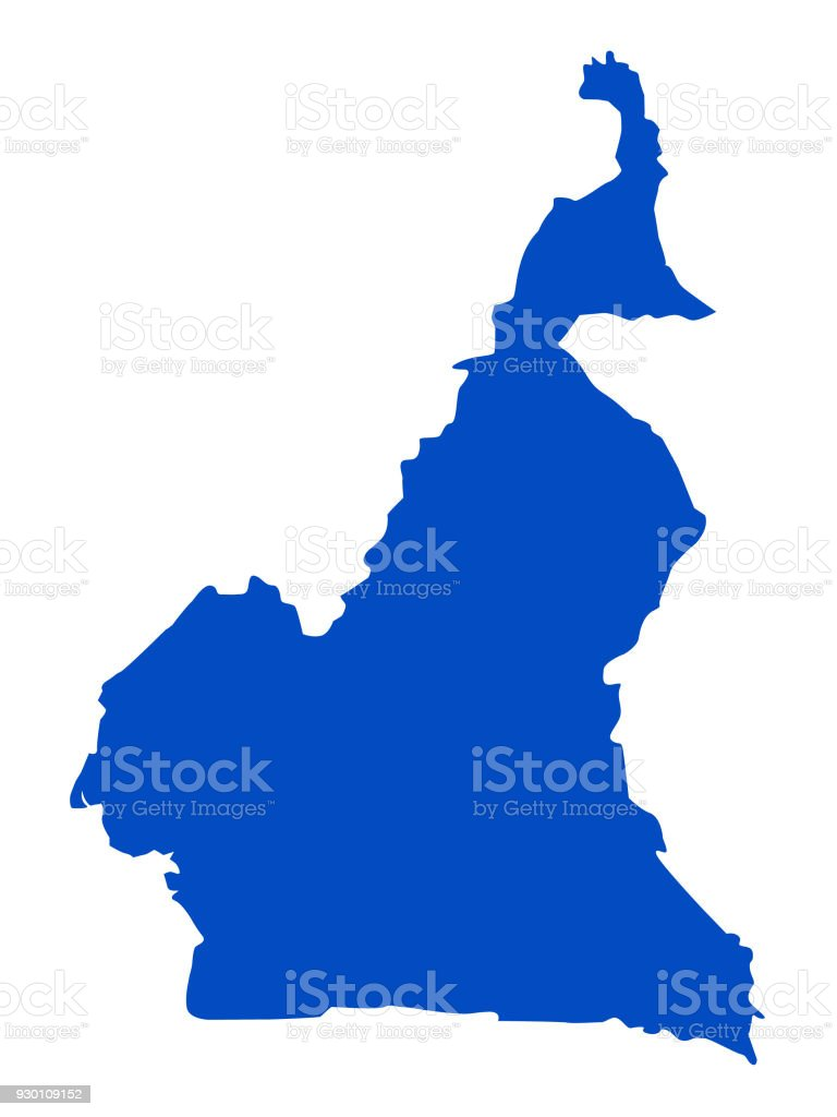 Cameroon Map Stock Vector Art & More Images of Africa 930109152   iStock