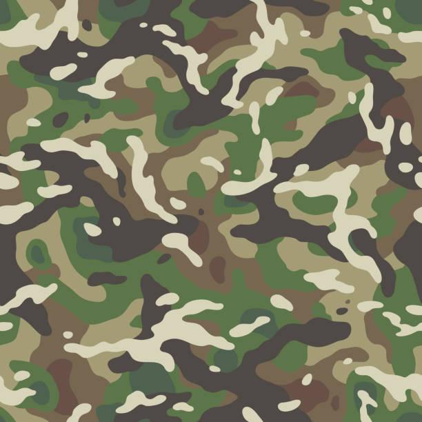 camo nahtloses Muster – Vektorgrafik