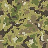 Camo seamless pattern