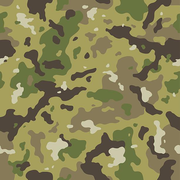 Camo seamless pattern Camo seamless pattern military uniform stock illustrations
