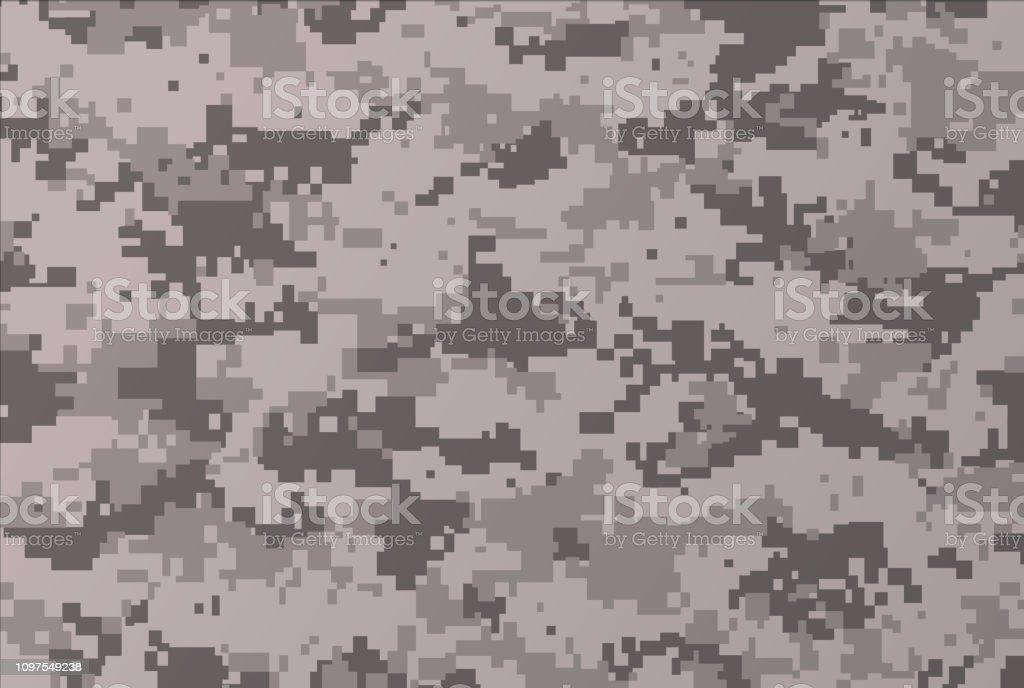Camouflage Background vector art illustration